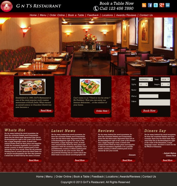 GnTs-restaurant-website-design